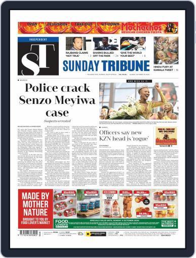 Sunday Tribune (Digital) October 25th, 2020 Issue Cover