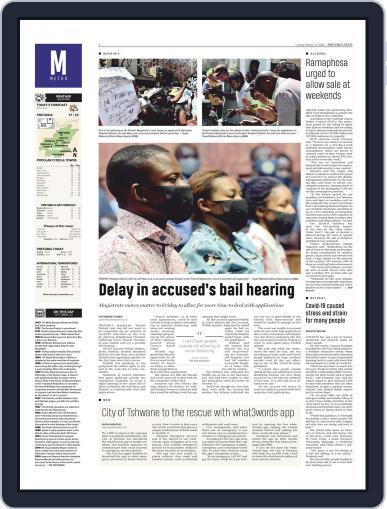Pretoria News October 27th, 2020 Digital Back Issue Cover