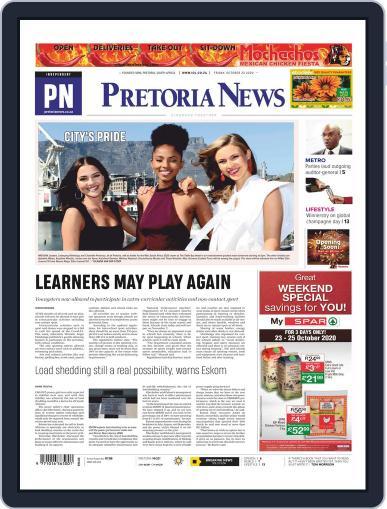 Pretoria News (Digital) October 23rd, 2020 Issue Cover
