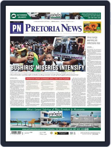Pretoria News (Digital) October 22nd, 2020 Issue Cover