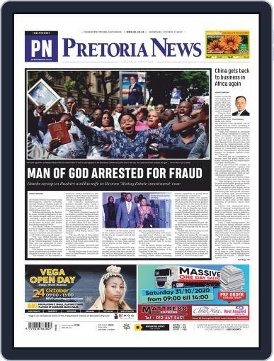 Pretoria News (Digital) October 21st, 2020 Issue Cover
