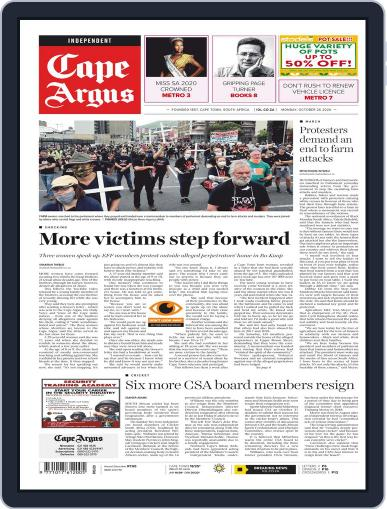 Cape Argus (Digital) October 26th, 2020 Issue Cover