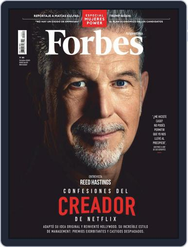 Forbes Argentina (Digital) October 1st, 2020 Issue Cover