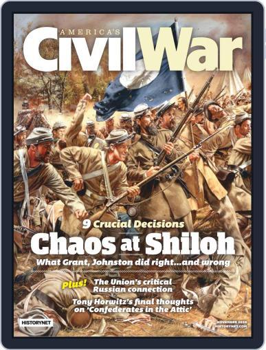America's Civil War November 1st, 2020 Digital Back Issue Cover