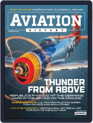 Aviation History November 1st, 2020 Digital Back Issue Cover