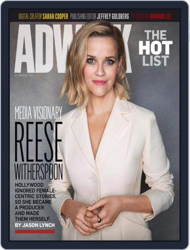 Adweek (Digital) October 26th, 2020 Issue Cover
