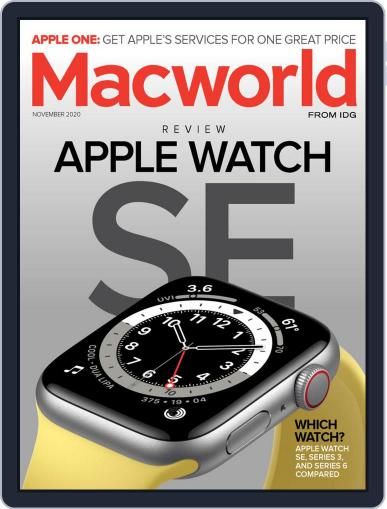 Macworld November 1st, 2020 Digital Back Issue Cover