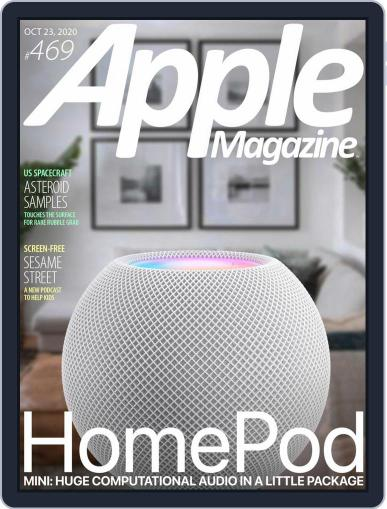 AppleMagazine October 23rd, 2020 Digital Back Issue Cover