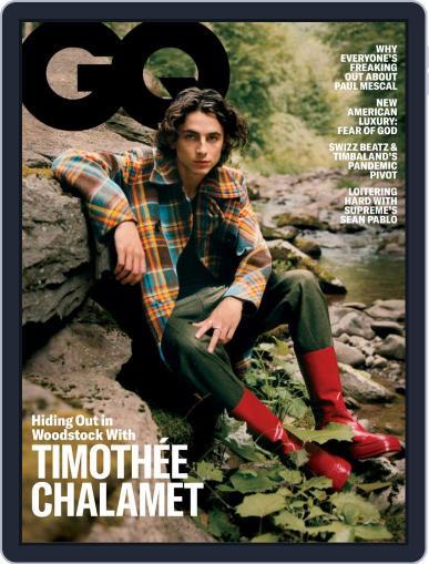 GQ (Digital) November 1st, 2020 Issue Cover