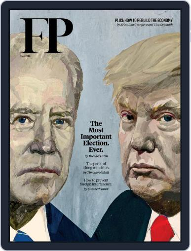 Foreign Policy (Digital) October 13th, 2020 Issue Cover