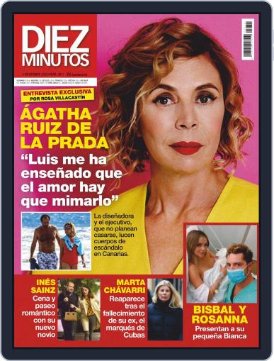 Diez Minutos (Digital) November 4th, 2020 Issue Cover