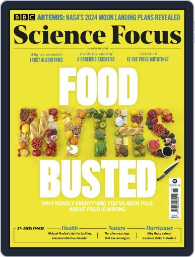 BBC Science Focus November 1st, 2020 Digital Back Issue Cover