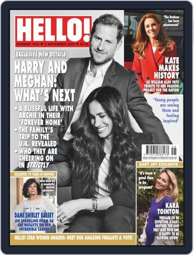 Hello! November 2nd, 2020 Digital Back Issue Cover