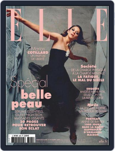 Elle France (Digital) October 23rd, 2020 Issue Cover