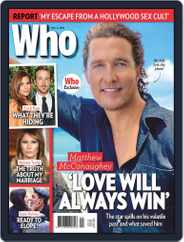 WHO (Digital) Subscription November 2nd, 2020 Issue