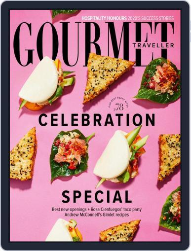 Gourmet Traveller (Digital) November 1st, 2020 Issue Cover