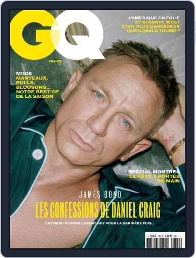 Gq France (Digital) November 1st, 2020 Issue Cover