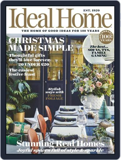 Ideal Home (Digital) December 1st, 2020 Issue Cover