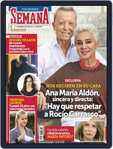 Semana (Digital) November 4th, 2020 Issue Cover