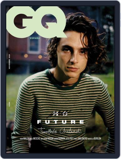 Gq España November 1st, 2020 Digital Back Issue Cover