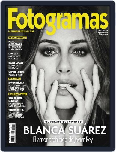 Fotogramas (Digital) November 1st, 2020 Issue Cover