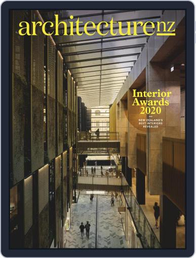 Architecture NZ (Digital) September 1st, 2020 Issue Cover