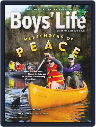 Boys' Life (Digital) November 1st, 2020 Issue Cover