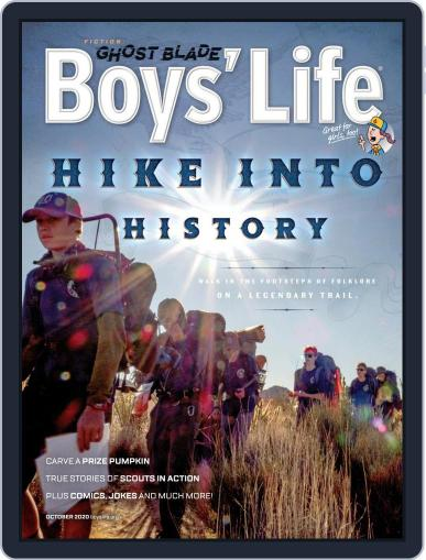 Boys' Life (Digital) October 1st, 2020 Issue Cover