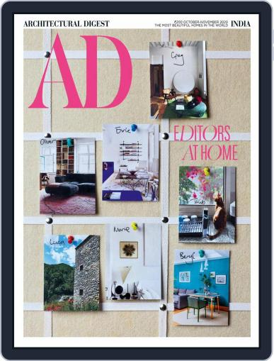 Architectural Digest India October 1st, 2020 Digital Back Issue Cover