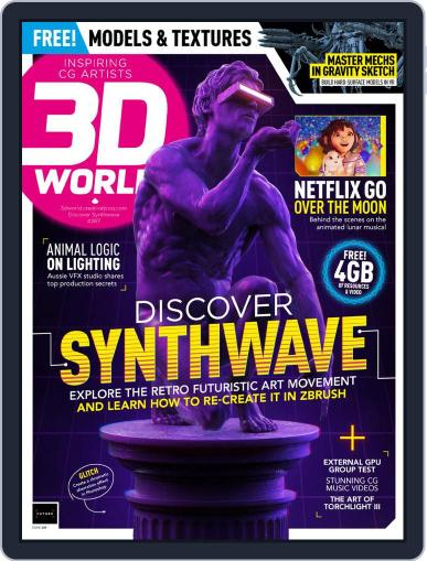 3D World October 28th, 2020 Digital Back Issue Cover