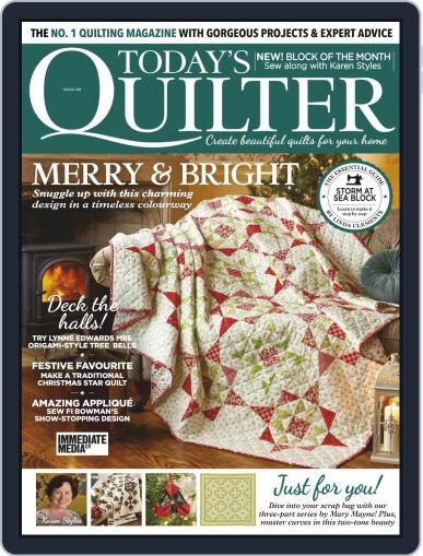 Today's Quilter October 20th, 2020 Digital Back Issue Cover
