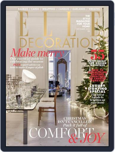 Elle Decoration UK December 1st, 2020 Digital Back Issue Cover