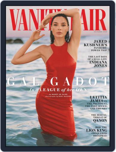 Vanity Fair UK November 1st, 2020 Digital Back Issue Cover