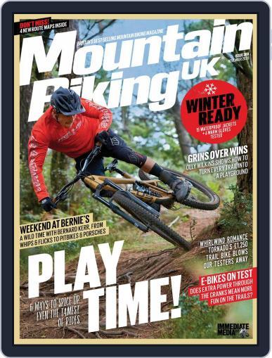 Mountain Biking UK November 1st, 2020 Digital Back Issue Cover