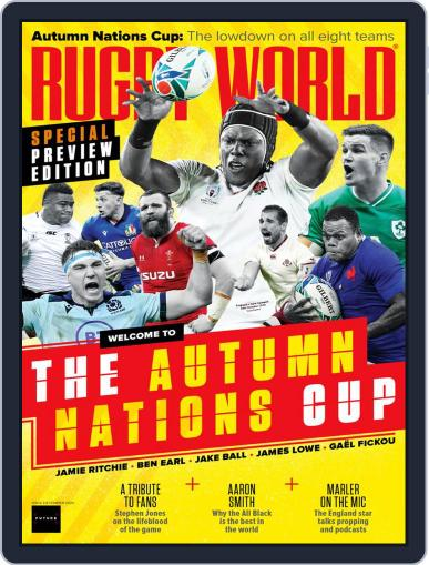 Rugby World December 1st, 2020 Digital Back Issue Cover