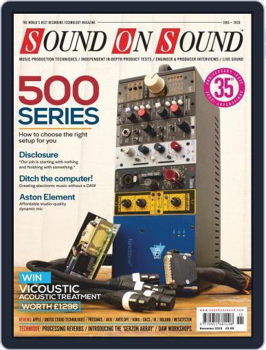 Sound On Sound UK (Digital) November 1st, 2020 Issue Cover