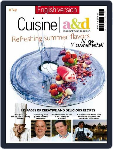 Cuisine A&D English Version May 31st, 2014 Digital Back Issue Cover