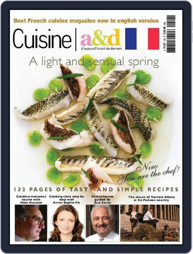 Cuisine A&D English Version (Digital) May 13th, 2014 Issue Cover