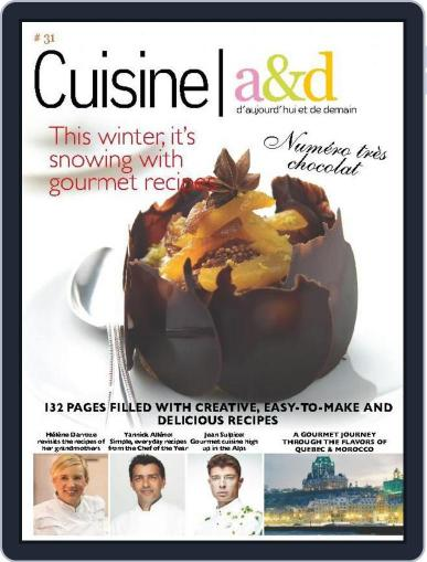 Cuisine A&D English Version January 7th, 2014 Digital Back Issue Cover