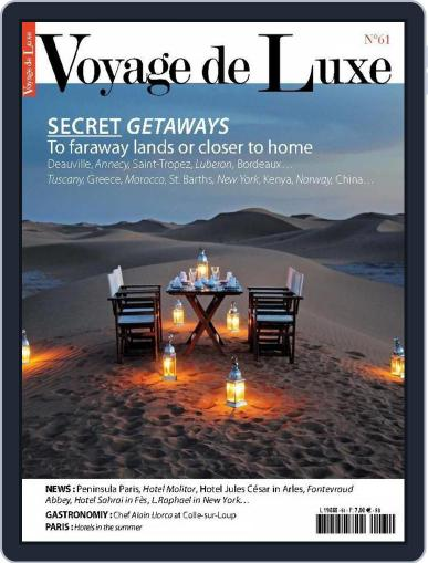 Luxury Travel (Digital) February 12th, 2015 Issue Cover