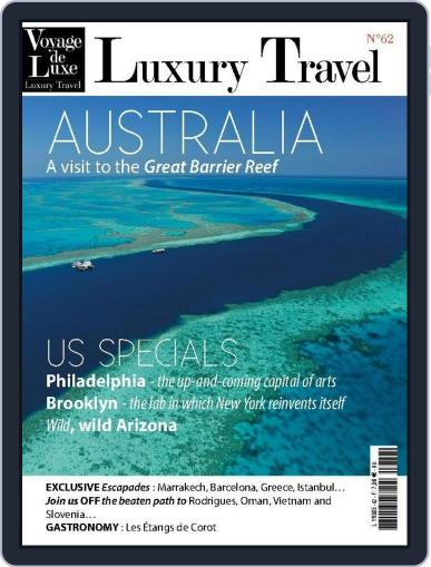 Luxury Travel (Digital) February 1st, 2015 Issue Cover