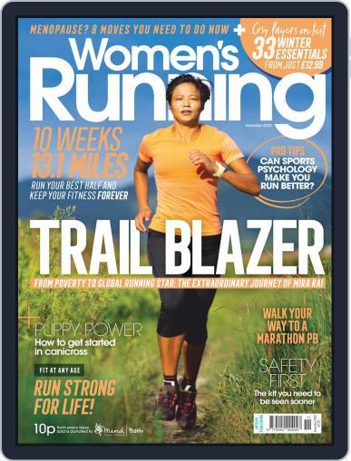 Women's Running United Kingdom (Digital) November 1st, 2020 Issue Cover