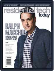 Residential Tech Today (Digital) Subscription August 1st, 2020 Issue