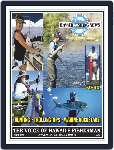 Hawaii Fishing News (Digital) November 1st, 2020 Issue Cover