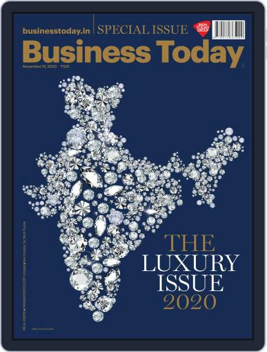 Business Today November 15th, 2020 Digital Back Issue Cover