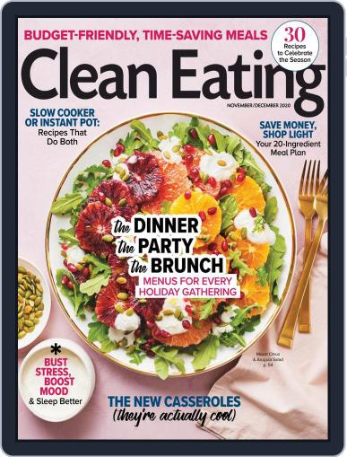 Clean Eating Magazine (Digital) November 1st, 2020 Issue Cover