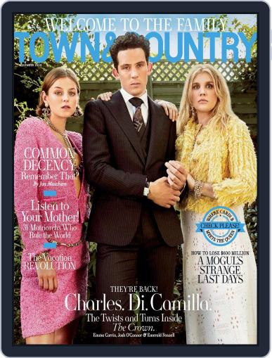 Town & Country (Digital) November 1st, 2020 Issue Cover
