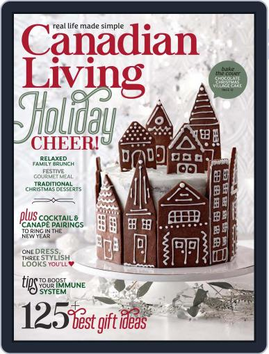 Canadian Living (Digital) December 1st, 2020 Issue Cover