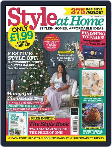 Style At Home United Kingdom (Digital) December 1st, 2020 Issue Cover