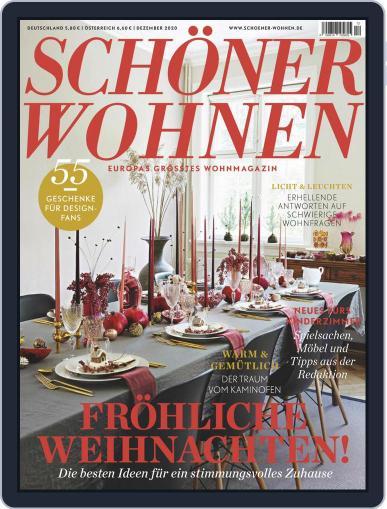 Schöner Wohnen (Digital) December 1st, 2020 Issue Cover
